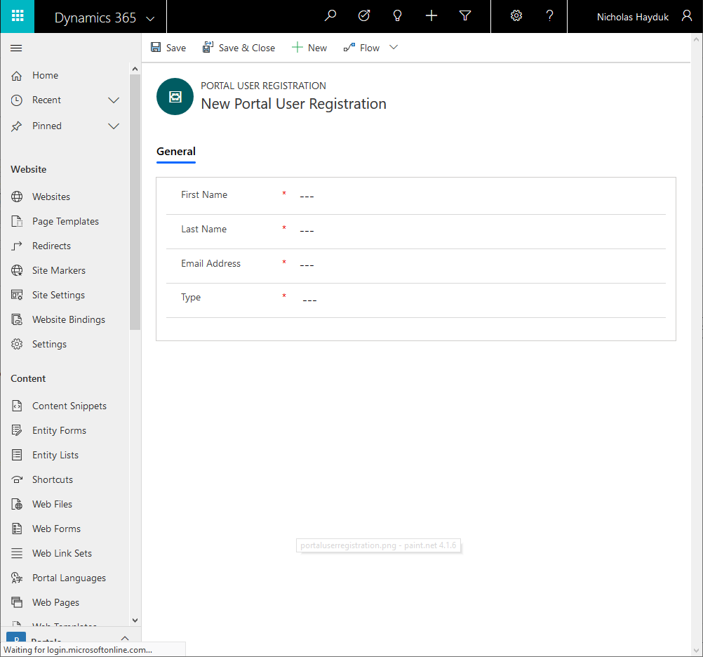 Engineered Code - Blog - Dynamics 365 Portal: Customizing